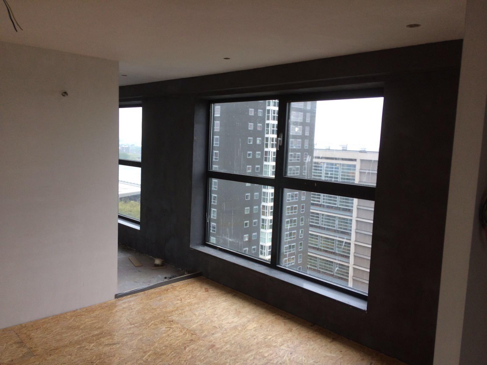 leef beton rotterdam betonlook wanden en vloer in penthouse